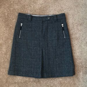 Brooks Brothers Wool Blend Skirt